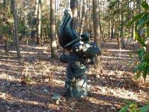 Image of Statue, Garden - Pelicans Statue