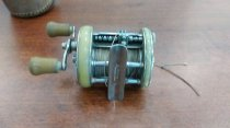 Image of Reel, Fishing - 1946 Model GE Shakespeare Reel with case