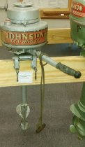 Image of Motor, Outboard - Old Johnson Seahorse Outboard Motor
