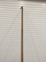"""Image of Hook, Boat - 8ft. long x 1-1/2"""" dia. wooden handle with metal hook."""
