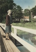 Image of Mary Snow Freeman on Uncle Tim's Bridge