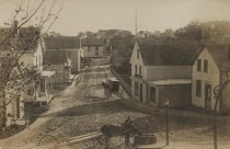 Image of Commercial St. taken from the lawn at the Adam's Lodge - W0055