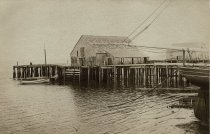 Wellfleet Harbor and Wharf