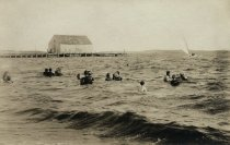 Image of Swimmers at Mayo Beach - W0076
