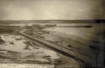 Image of Long view of Mayo Beach Rd and Kendrick Ave toward the wharf area - W0077