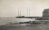 Image of Wharf area, Wellfleet Harbor - W0105