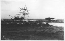 """Image of Wreck of the """"Jason"""" December 5th, 1893 - W0132"""
