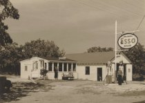 Image of Gift Shop and filling station of M.V. Currier, So. Wellfleet - W0166