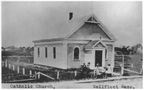 Image of Catholic Church. Wellfleet, Mass. - W0260