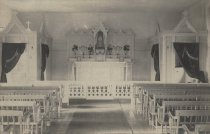 Image of The first Catholic Church interior of Our Lady of Lourdes - W0262