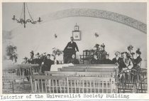 Image of Interior of the Universalist Society Building - W0265