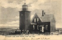Image of Billingsgate Light, South Wellfleet (Cape Cod), Mass. - W0310