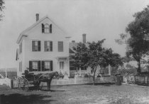 Image of The home of Captain George Baker (ca. 1892) - W0335