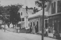 Image of Mary Sparrow's House, the post office, Abrose Snow's Ice Cream Parlor - W0367