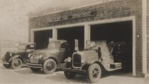 Image of The Fire Department, Wellfleet, circa 1930s - W0393