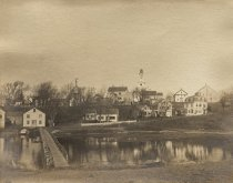 Image of Uncle Tim Daniel's Bridge off Commercial Street over to Cannon Hill - W0408