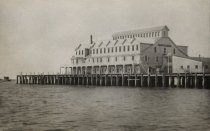 Image of Chequesset Inn built on the former Mercantile Wharf off Mayo Beach Road - W0436