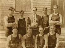 Image of Wellfleet High School Boys Basketball Team 1925-26 - W0874
