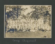 Image of Camp Chequesset 1916-1917 - W1383