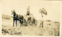 Image of Noelie and Capt. Bill, Camp Chequesset 1916-1917 - W1386