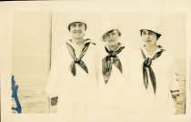 Image of The Three J's    Johnny, Jerry, Joe. Camp Chequesset 1916-1917 - W1388
