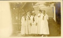 Image of The Cabinites. Hans, Westie, A. B., A. C., Noelie. Camp Chequesset 1916-191 - W1389