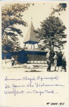 Image of Summer Chapel (Episcopal) St. James the Fisherman Wellfleet on Cape Cod. - W1602