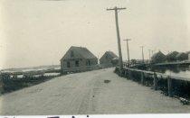 Image of Shore buildings, Mayo Beach 1895  Wellfleet 1890-1900 - W1176