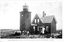 Image of Billingsgate Light, Entrance of Wellfleet Harbor, Mass. - W2185
