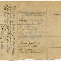 Image of Cover of Arrest Warrant for Henry White