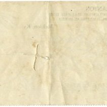 Image of Back of Check to J. R. Blake from W. H. Blanton
