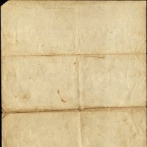 Image of Back of Deed from John and Sinda Mann to S. H. Mann