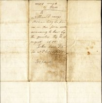 Image of Cover to Moses Mays to William B. Mays Deed