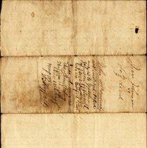 Image of Cover of Isaac and Clary Johnson deed to John McIntosh