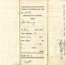 Image of Cover for Bail Bond for Joe Swinney