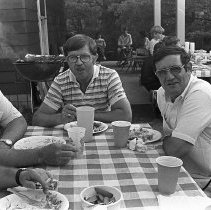 Image of Sam Herald, Sanford Chaney, Bill Toler, and ??