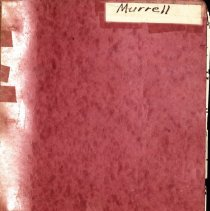 Image of Murrell Book -- Bertha Noble Collection_00000001