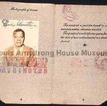 Image of 1987.10.57 - 1932 Passport