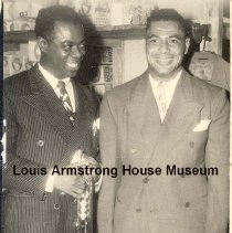 """Image of 1987.14.1577-1987.14.1618 - Louis Armstrong Collection: Photographs, Box 25. """"Photographs (in folders) by nightclub photographers."""""""
