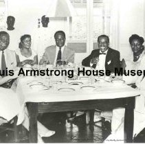 """Image of 1987.14.1745-1987.14.1811 - Louis Armstrong Collection: Photographs, Box 30. """"International photographs (taken abroad)."""""""
