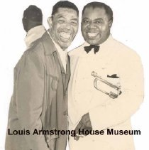 "Image of 1987.14.3228-1987.14.3277 - Louis Armstrong Collection: Photographs, Box 47. ""Collage Materials."""