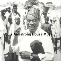 """Image of 1987.14.3374-1987.14.3426 - Louis Armstrong Collection: Photographs, Box 49 """"Oversized Photos."""""""