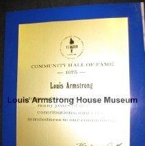 Image of 1987.15.30 - Award