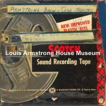 Image of 1987.3.0133 - [Reel-to-reel tape recorded by Louis Armstrong]