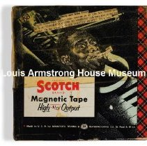 Image of 1987.3.0233 - [Reel-to-reel tape recorded by Louis Armstrong]