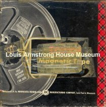Image of 1987.3.0294 - [Reel-to-reel tape recorded by Louis Armstrong]