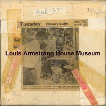 Image of 1987.3.0336 - [Reel-to-reel tape recorded by Louis Armstrong]