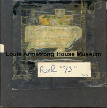 Image of 1987.3.0373 - [Reel-to-reel tape recorded by Louis Armstrong]