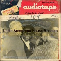 Image of 1987.3.0409 - [Reel-to-reel tape recorded by Louis Armstrong]