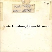 Image of 1987.3.0424 - [Reel-to-reel tape recorded by Louis Armstrong]